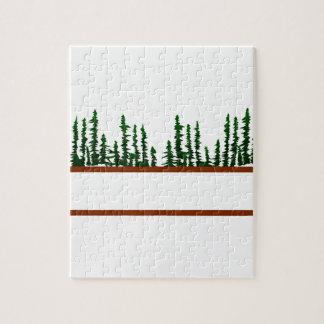 木のロゴ ジグソーパズル