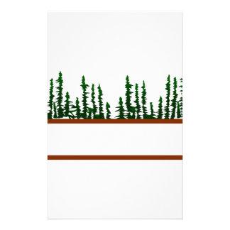 木のロゴ 便箋