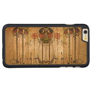 木のヴィンテージの記号による芸術 CarvedメープルiPhone 6 PLUS スリムケース