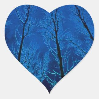木の不気味な沈黙 ハートシール