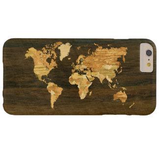 木の世界地図 BARELY THERE iPhone 6 PLUS ケース