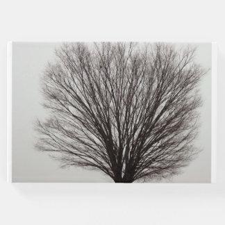 木の写真 ゲストブック