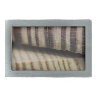 木の写真 長方形ベルトバックル