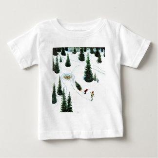木の削減 ベビーTシャツ
