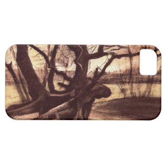 木の勉強 iPhone SE/5/5s ケース