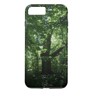 木の堅いiPhone 7のプラスの場合 iPhone 7 Plusケース