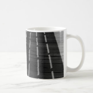 木の塀 コーヒーマグカップ