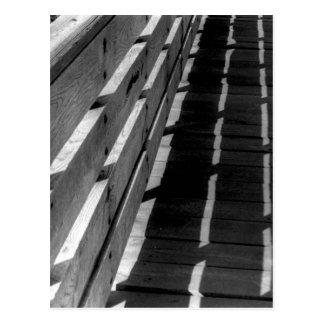 木の塀 ポストカード