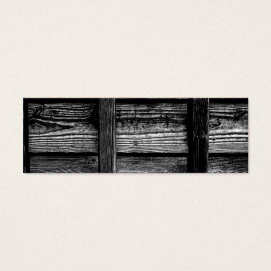 木の外壁 bookmark スキニー名刺