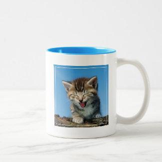 木の子ネコ ツートーンマグカップ