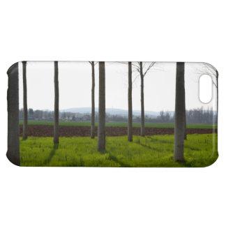 木の幹およびフランスのな田舎 iPhone5C カバー