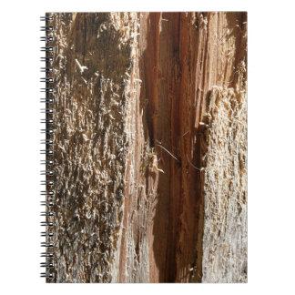 木の幹のデザイン ノートブック