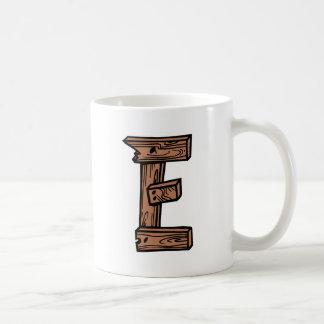 木の手紙E コーヒーマグカップ