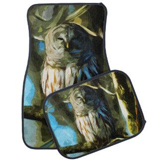木の抽象芸術の印象主義のアメリカフクロウ カーマット