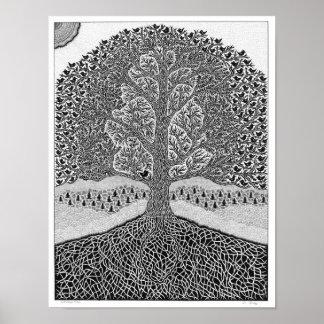 木の捜索 ポスター