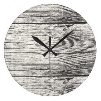 木の時計 ラージ壁時計