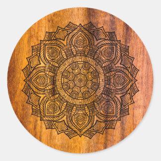 木の曼荼羅 ラウンドシール