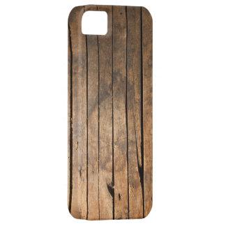 木の板のiPhone 5の場合 iPhone SE/5/5s ケース
