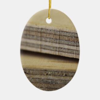 木の板 セラミックオーナメント