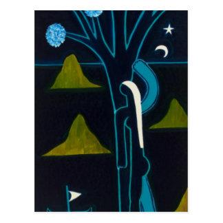 木の根は海と遊んでいます ポストカード