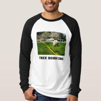 木の殺人 Tシャツ