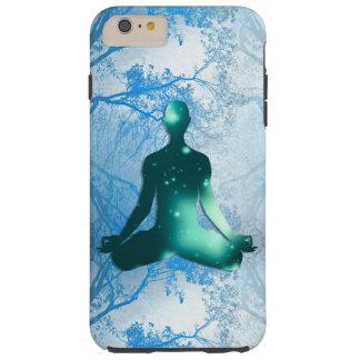 木の浮遊ヨーガ行者(青い) TOUGH iPhone 6 PLUS ケース