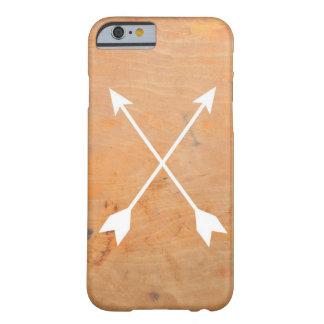 木の矢の電話箱 BARELY THERE iPhone 6 ケース