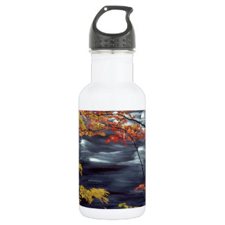 木の秋Aの急ぐ川 ウォーターボトル