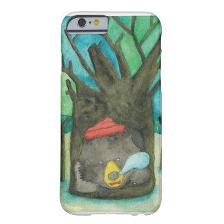 木の穴の睡眠くま BARELY THERE iPhone 6 ケース