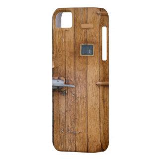 """""""木の納屋の大戸""""のiPhone 5/5S、やっとそこに iPhone SE/5/5s ケース"""