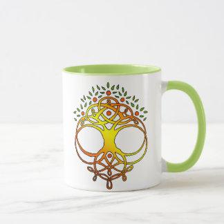 木の結び目 マグカップ