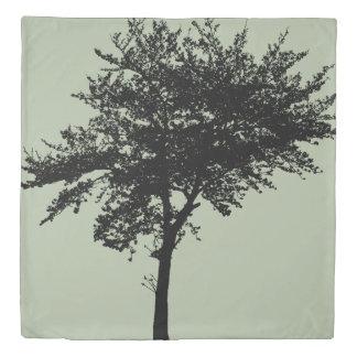 木の羽毛布団カバー-女王 掛け布団カバー