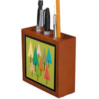 木の芸術の印象 ペンスタンド