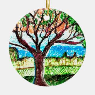 木の芸術 セラミックオーナメント