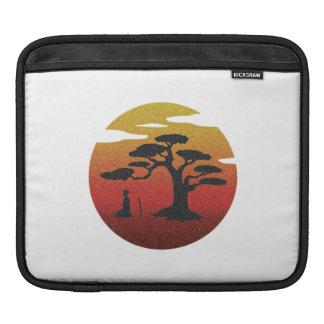 木の袖の下の武士 iPadスリーブ