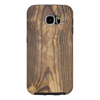 木の質感 SAMSUNG GALAXY S6 ケース