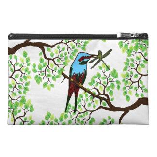 木の青い鳥 トラベルアクセサリーバッグ