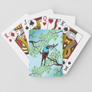 木の青い鳥 トランプ