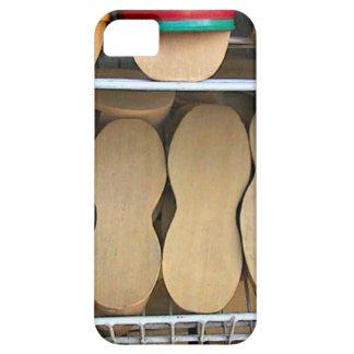 木の靴底、シンガポール iPhone SE/5/5s ケース