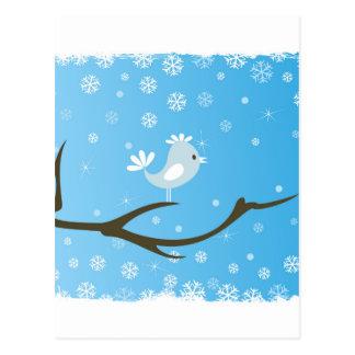 木の鳥 ポストカード