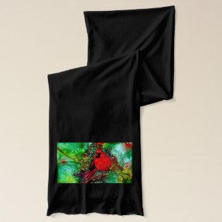 木の(鳥)ショウジョウコウカンチョウ スカーフ