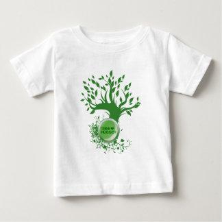 木のHugger愛 ベビーTシャツ