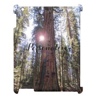 木のIpadの太陽に照らされた場合 iPadケース