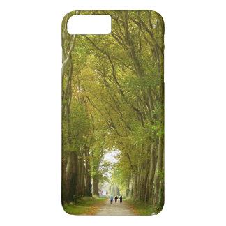 木のiPhone 7のプラスの場合の道 iPhone 8 Plus/7 Plusケース