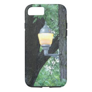 木のiPhone 7の場合のランプのポスト iPhone 8/7ケース
