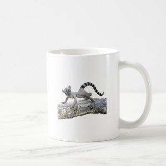 木のLemur コーヒーマグカップ