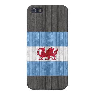 木のPatagonian旗 iPhone SE/5/5sケース