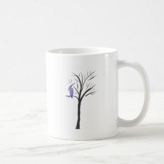 木のPterodactyl コーヒーマグカップ