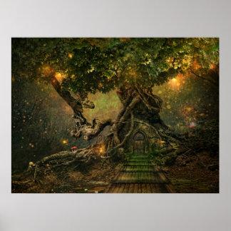 木のscape ポスター