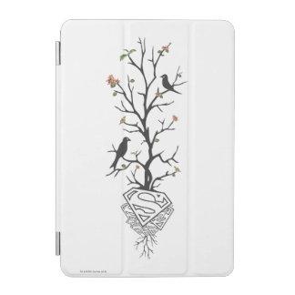 木のSupergirlの鳥 iPad Miniカバー